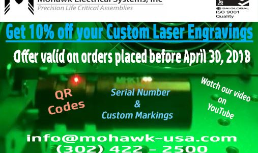 Spring Offer: 10% off Custom Laser Engraving