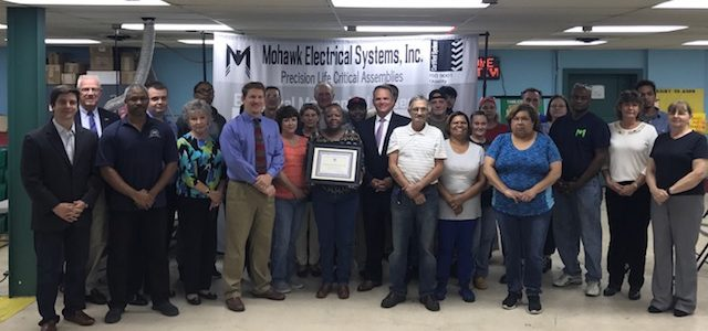Media: Mohawk awarded for 30 years in Delaware Workplace Safety Program