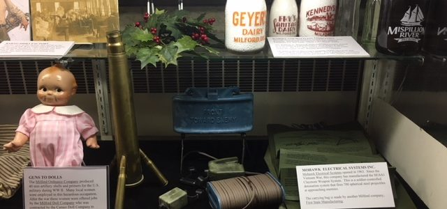 M68 Claymore now on display at Milford Museum