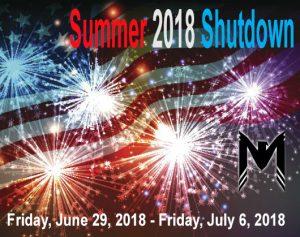 Mohawk announces 2018 summer shutdown - Mohawk Electrical