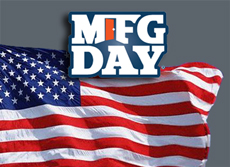 National Manufacturing Day is on Friday, October 5, 2018