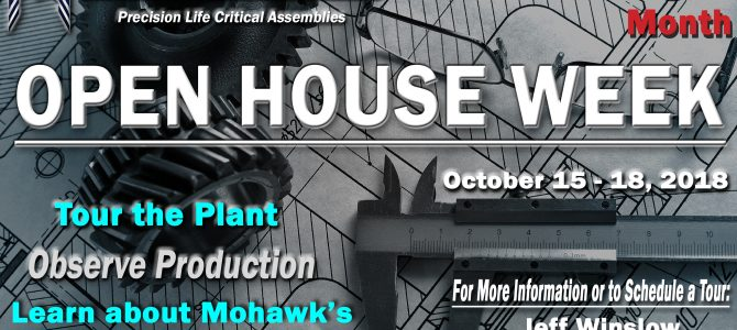Mohawk to celebrate National Manufacturing Month