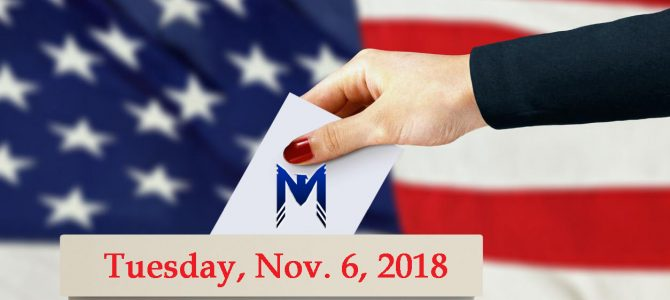 Election Day – Tuesday, November 6, 2018